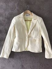 Ladies Yellow Summer Blazer With Pockets from New Look - UK Size 12