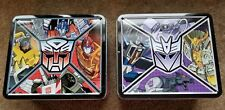 G1 Transformers Tin Lunch Boxes