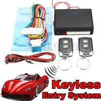 Remote Auto Car Control Keyless Entry Central Door Lock Locking Kit System &