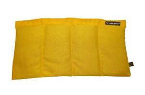 Körnerkissen Dinkel Dinkelkissen Wärmekissen Gelb ca. 40x20cm