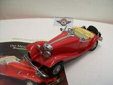 "MERCEDES-BENZ 500 K (w29) ""Roadster Speciale"" 1935, Red, Franklin Mint 1:24"