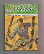 Zane Grey's Western Mag Apr 1950 Pulp Harry Sinclair Drago Lewis B Patten Calvin