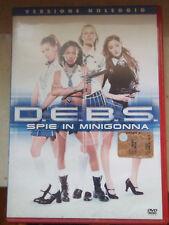 Vendo film dvd  D.E.B.S. SPIE IN MINIGONNA (lotto stock) FUORI CATALOGO