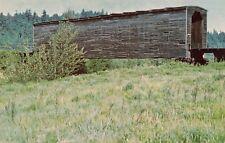 pc735 Postcard of A Covered Bridge at Sumner, Washington