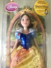 🔥BRAND NEW Snow White And The Seven Dwarves Sparkling Princess Barbie Doll 2008