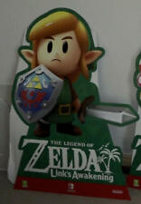 Nintendo Switch Links awakening promo  3 x link standee shop display Zelda stand