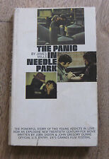 THE PANIC IN NEEDLE PARK by James Mills -1st PB 1966 heroin drugs junkie Pacino