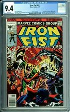 IRON FIST 15 CGC 9.4 WP XMEN WOLVERINE BYRNE NEW NON-CIRCULATED CASE MARVEL 1977