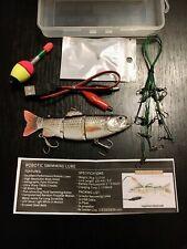 DZY1-01 Fishing Lure Bait River Lake Sea USB Robotic Swimming Pike Perch Zander
