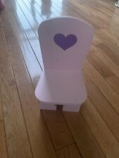 wooden doll chair For 18� Doll