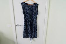 Marcs silk printed dress (size 12).