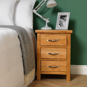 Matching Pair Of Auckland Oak Bedsides / Matching Lamp Tables / Chest Of Drawers