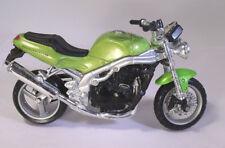 Triumph Speedtriple 955i Motorrad Blister Standplatte Datensatz OVP  1:18 Maisto