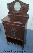 61672 Antique Victorian Sheet Music Cabinet