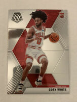 Coby White 2019-20 Panini Mosaic Rookie Base Variation SP Chicago Bulls #211 RC