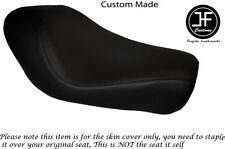 Vinilo negro automotriz Personalizado Para Harley Sportster Low Hierro 883 Solo Cubierta de asiento