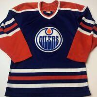 CCM Maska Ultrafil Edmonton Oilers jersey 80s 1980s vintage Gretzky