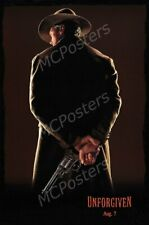 Unforgiven Glossy Finish Movie Poster - 24x36 Inches Frame Ready