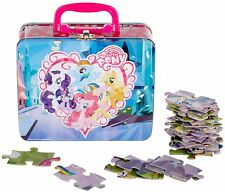 My Little Pony Lunch Box + 48 Piece Puzzle  Crystal Empire Tin Lunchbox SEALED