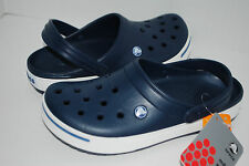 NWT CROCS CROCBAND II ESPRESSO NAVY BLACK KHAKI 4 5 6 7 8 9 10 11 12 CLOGS shoes