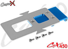 CopterX CX450-03-21 Aluminum Battery Mounting Plate Align T-rex Trex 450 SE AE