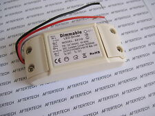 DRIVER DIMMERABILE DIMMABILE LED 4 5 6 x 1w  INPUT 100~260V VARIATORE LUCE D18