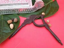 Old Nut Betel Cutter Antique Iron Sarota Vintage Old Rare Iron Handcrafted  S11