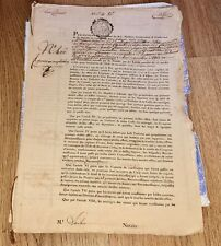 More details for sir lucas clement 1768 french financial document alsace france