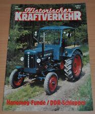 Historischer Kraftverkehr HIK 3/91 Hanomag Traktoren DDR Fuchs Magirus VW