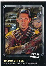 #64 RAZOO QIN-FEE 2016 Topps Star Wars Trader Physical card