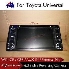 "6.2"" 2 din unit Car DVD GPS  For Toyota ECHO Landcruiser PRADO RAV4 Camry HILUX"