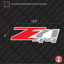 2X Z71 4X4 OEM STYLE CHEVY CHEVROLET CAR sticker vinyl decal