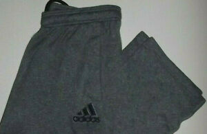 ADIDAS  MENS  WarmUp Pants LIGHTWEIGHT  LARGE GRAY   P950