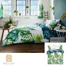 Luxury Tropical Palm Weed Leaf Duvet Cover Set Quilt Reversible Bedding All Size