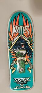Natas Kaupas Blind Bag Skateboard Deck - Santa Cruz x SMA Prismatic Foil