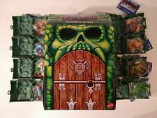 MASTERS OF THE UNIVERSE ETERNIA MINIS FULL 8 SET HORDE ZOMBIE SLIME PIT HE-MAN