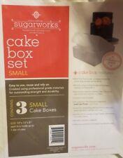 Innovative Sugarworks Small Cake Box Set, 3 Small Cake Boxes
