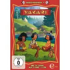 YAKARI - GESCHENKBOX (4) 2 DVD+2 CD NEUWARE