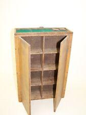 Piccolo età legno armadio, armadio, ART DECO 34x23x8 cm