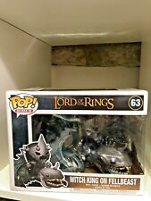 WITCH KING ON FELLBEAST FUNKO POP RIDE LORD OF THE RINGS #63 HOBBIT NAZGUL NEW