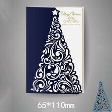 Christmas tree Metal steel frames Cutting Dies Scrapbooking Album Embossing Card