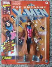 "Exclusive X-Men Marvel Legends Vintage Retro Gambit Action Figure 7"" Target"