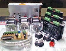 3 Axis MILL PC Computer Mach3 Emc2 Turbocnc Control Kit NEMA23 MIRCO STEP MOTOR