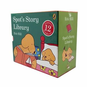12 SPOT's Story Books Library Story Book Set Collection Box Set Eric Hill