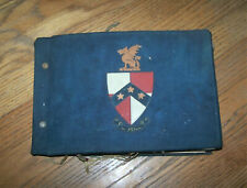 VINTAGE Beta Theta Pi fraternity scrapbook, University of Washington 1920's OLD