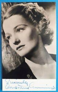 c1945 Signed B/W Photograph. CONSTANCE CUMMINGS #2. Blithe Spirit Ruth Condomine