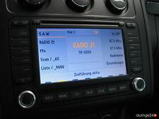 VW Aluringe Alu Navigation MFD 2 R-LINE RNS 2 GTI GTD R32 R36 SPORT