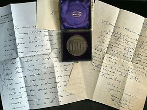 1900 ROYAL VICTORIAN INSTITUTE OF ARCHITECTS MEDAL LIEUT COLONEL W.A.HENDERSON