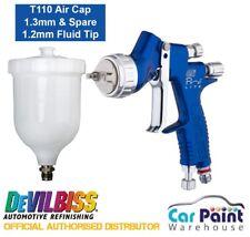 DeVilbiss GTi PRO LITE Spray Gun *BLUE* T110 1.2 & 1.3mm
