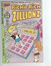 Richie Rich Zillionz #10 1978 VF To NM